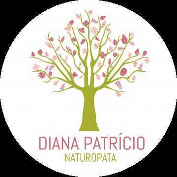LOGO Diana Green TREE RoundWhite